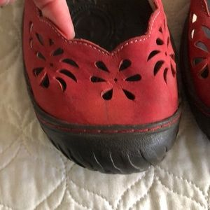 Jambu Shoes - Jambu Blossom Red Maryjanes